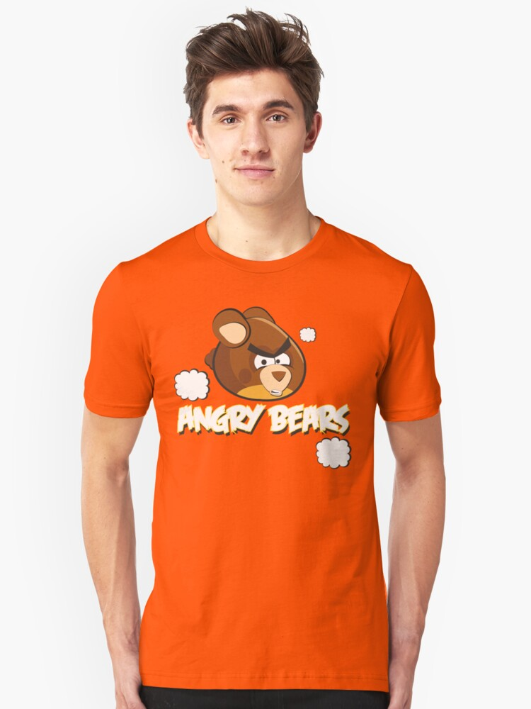 Angry Bears Unisex T-Shirt Front