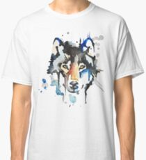 Watercolour Wolf Classic T-Shirt