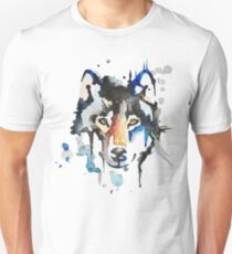 Watercolour Wolf Unisex T-Shirt