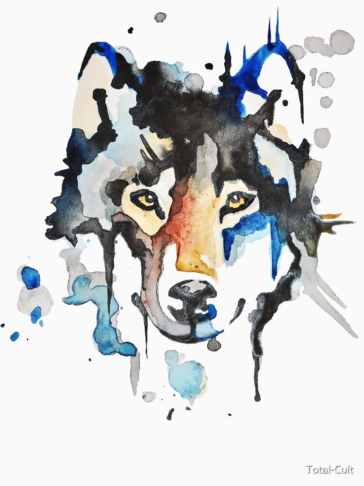 Watercolour Wolf | Unisex T-Shirt