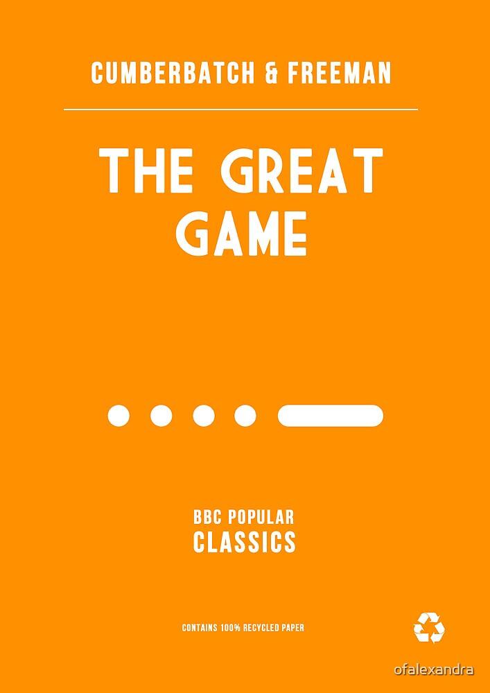 BBC Sherlock - The Great Game Minimalist by ofalexandra