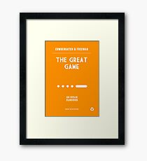 BBC Sherlock - The Great Game Minimalist Framed Print