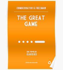 BBC Sherlock - The Great Game Minimalist Poster