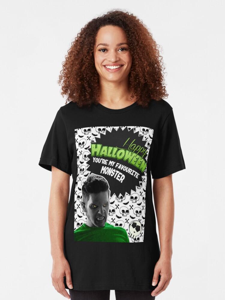Halloween Villain League [Teen Wolf's Theo Raeken] | Slim Fit T-Shirt