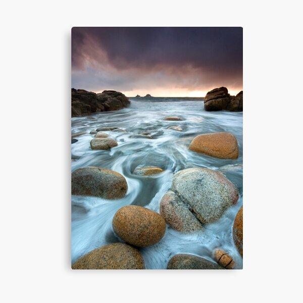 Cornwall : Cornish Swirls Canvas Print