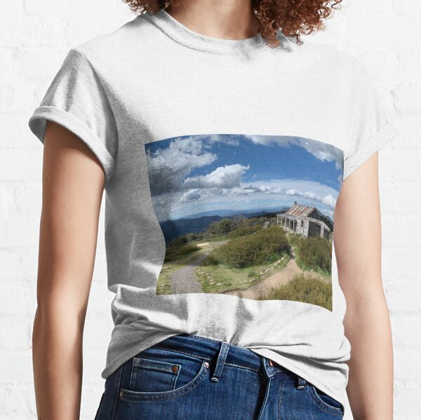 Craigs Hut, Mount Stirling, Victorian High Country, Victoria, Australia Classic T-Shirt