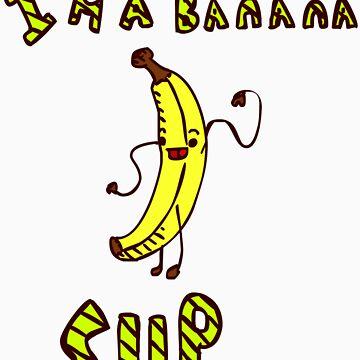 Banana Man by Lemon-zombie