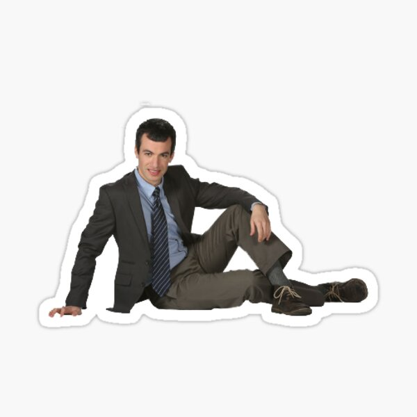 Nathan Fielder Posing Sticker