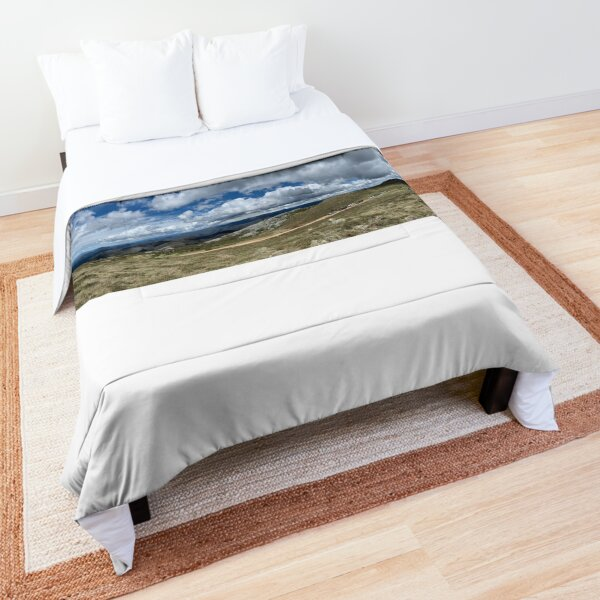 Mount Stirling Alpine Summit, Victorian High Country, Victoria, Australia Comforter
