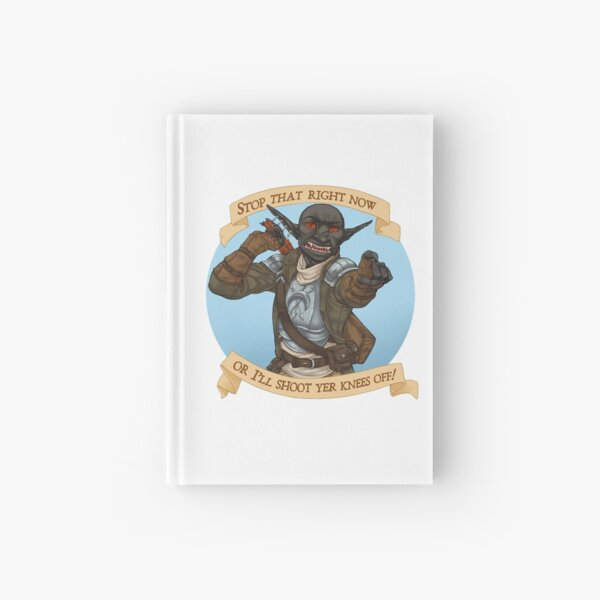 Grizzop drik acht Amsterdam - Rusty Quill Gaming Hardcover Journal