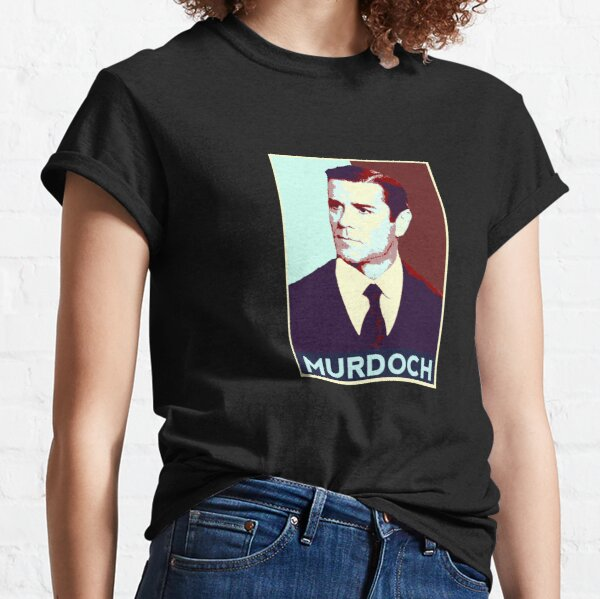 Murdoch Mysteries Detective Murdoch Pop Art Classic T-Shirt