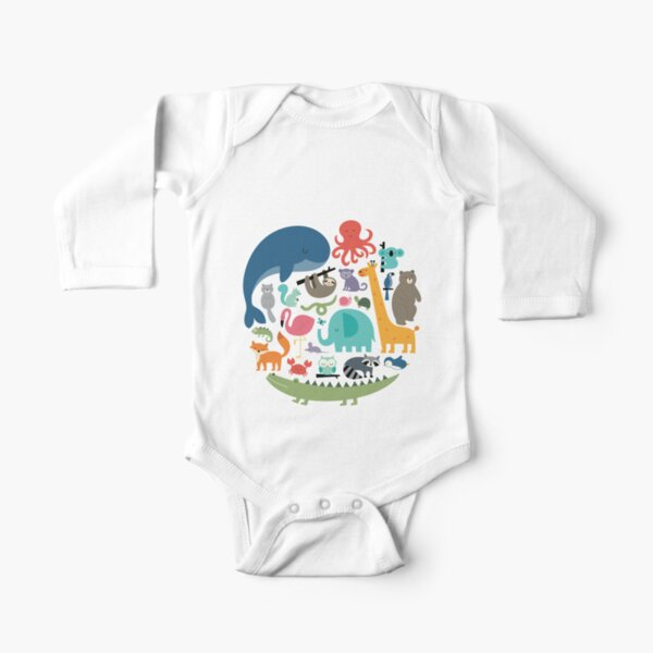 We Are One Long Sleeve Baby One-Piece