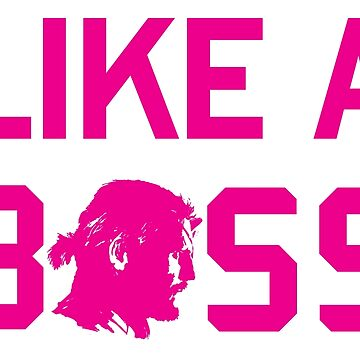 Like a (Big) Boss - in pink - special edition by sonatamartica