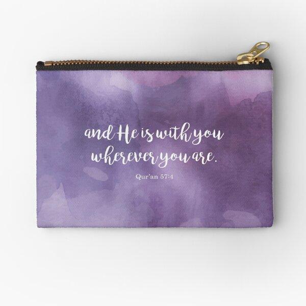 Y Él está contigo dondequiera que estés. Corán 57: 4 Bolsos de mano