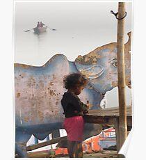 Ganges Child Poster