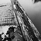 Decaying Lock Gate by kernuak