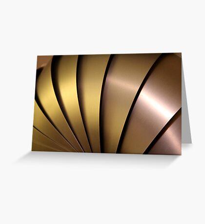 Shiny Armadillo. Greeting Card