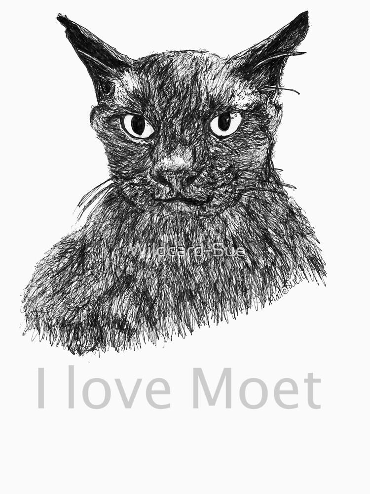 I love Moet the Brown Burmese by Wildcard-Sue