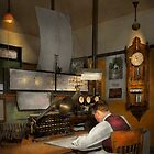 Steampunk - RR - The train dispatcher by Michael Savad