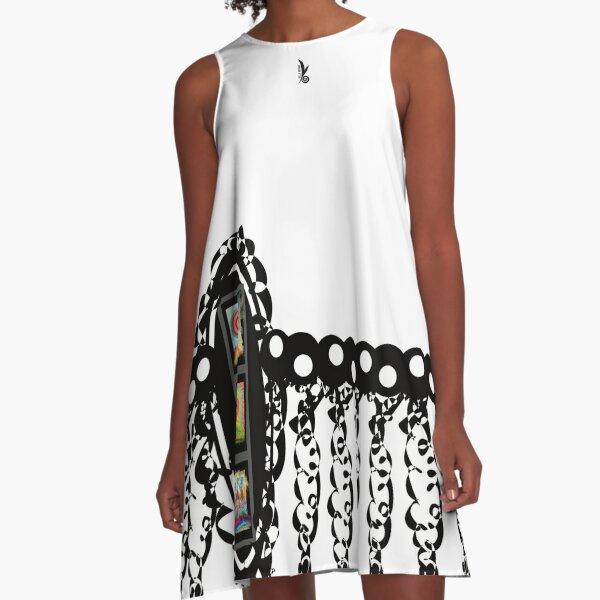 GalerieBlatt-Dress! Fabelhaftes Design von VILLA-KPUNKT. A-Linien Kleid