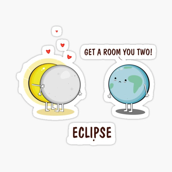 Eclipse Sticker