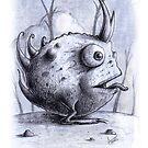 Rotundus Cornu Toad by trickmonkey