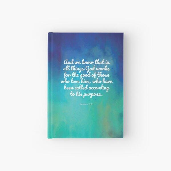 Romans 8:28 Hardcover Journal