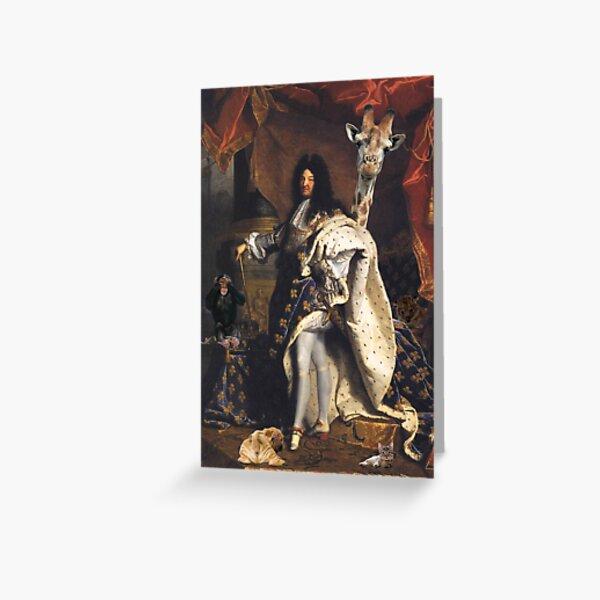 Bestiaire Royal Carte de vœux
