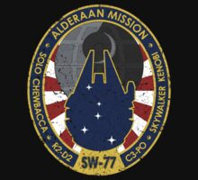 Alderaan Mission Patch (Distressed)