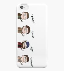Supernatural - Cas, Dean, Bobby, Sam iPhone 5c Case