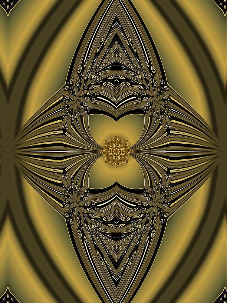Golden Rose by vkdezine