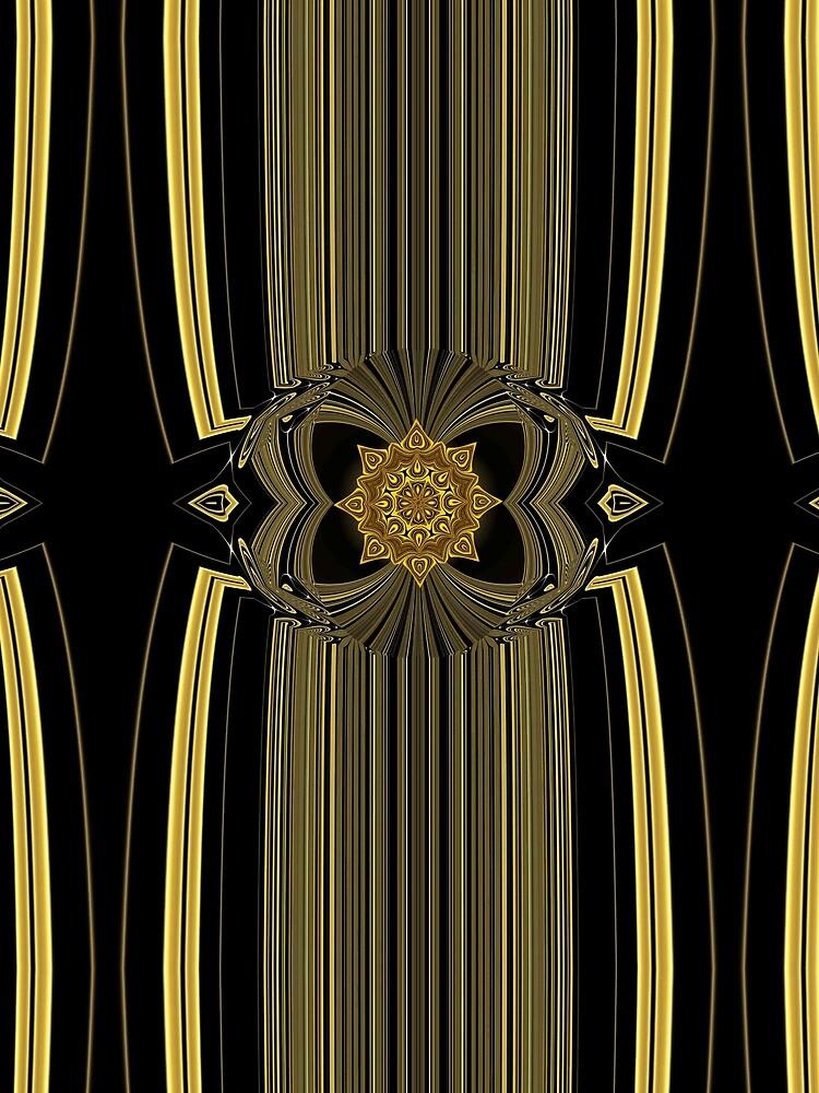 Golden Infinity by vkdezine