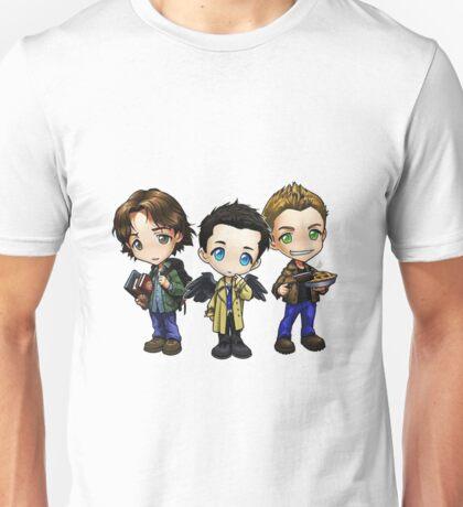 Supernatural - Dean, Sam and Castiel Unisex T-Shirt