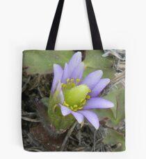 Windflower, Lavender Tote Bag