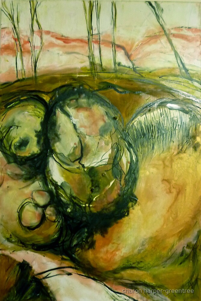 earth/skin3 by sharon harper-greentree