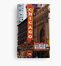 Chicago Theatre, Chicago, IL Canvas Print