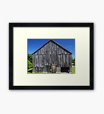 Tobacco Barn 1 Framed Print