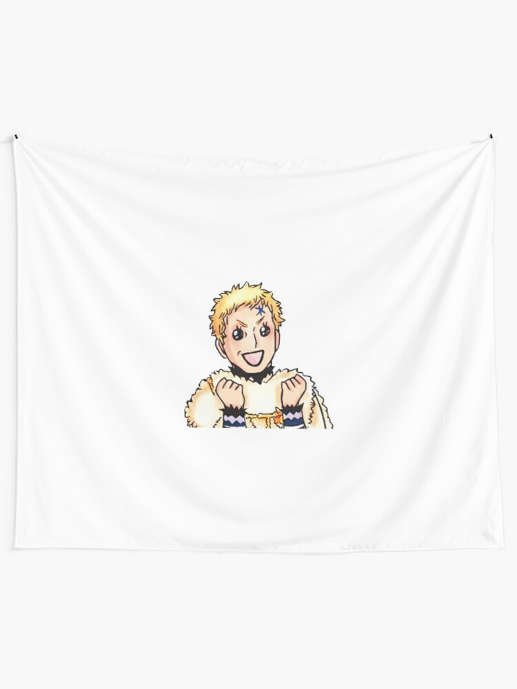 Julius Novachrono Black Clover Tapestry By Francesco2m Redbubble ♥️if you love animememes then follow me 📣 30% of the contents owned by me other 70% are stolen 🏆target 2k followers. redbubble