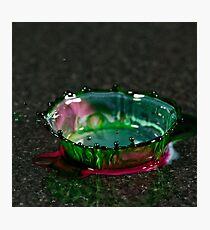 Glass Crown Photographic Print