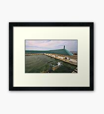 Newcastle Baths Framed Print