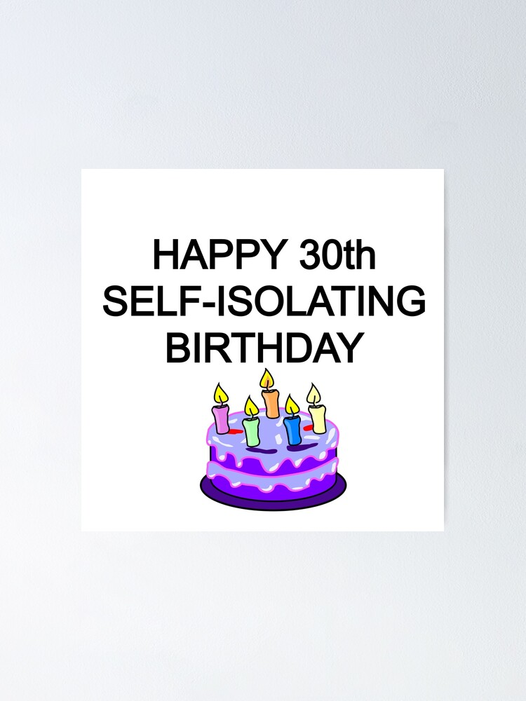 Astonishing Happy Self Isolating Birthday Funny Birthday Card Happy Funny Birthday Cards Online Alyptdamsfinfo