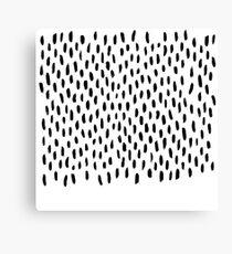 Handpainted Brush Texture Canvas Print