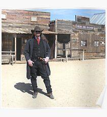 """""""Gunslinger"""" Poster"""