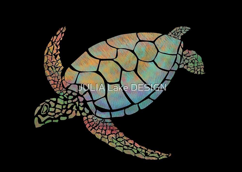 Sea turtle by JULIA Lake DESIGN
