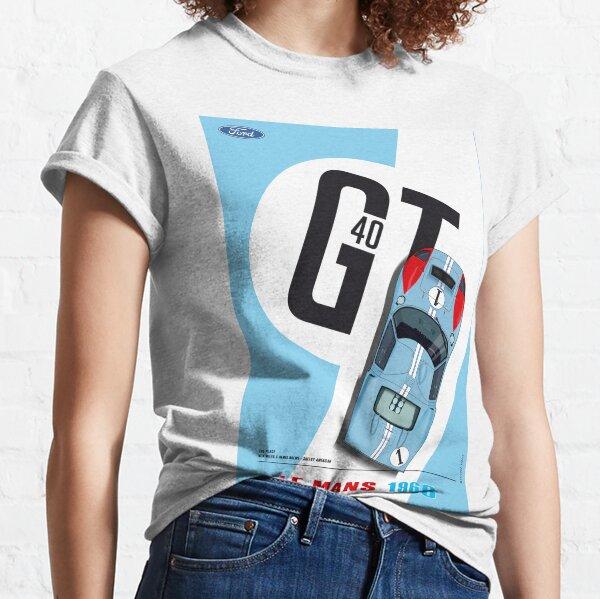 GT40 Ken Miles, Denis Hulme Camiseta clásica