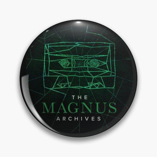 The Magnus Archives Logo (Season 5) (Square Block Logo) Pin