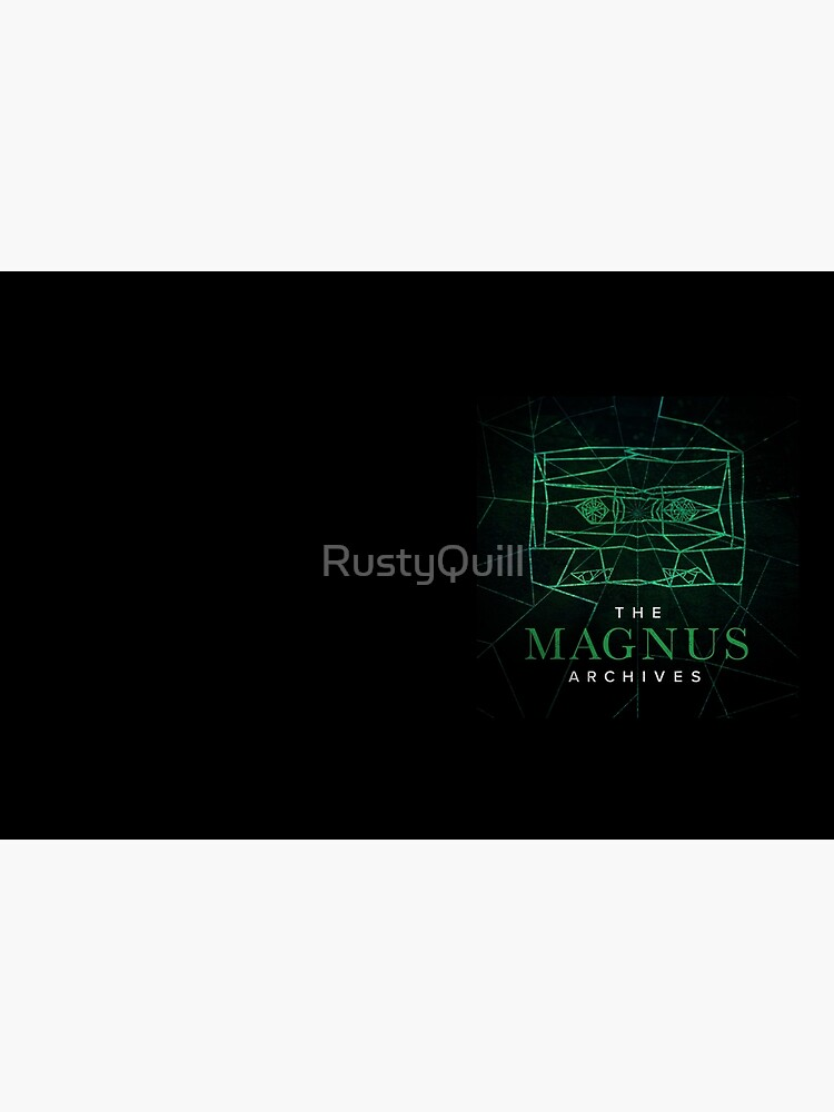 The Magnus Archives Logo (Season 5) (Square Block Logo) by RustyQuill