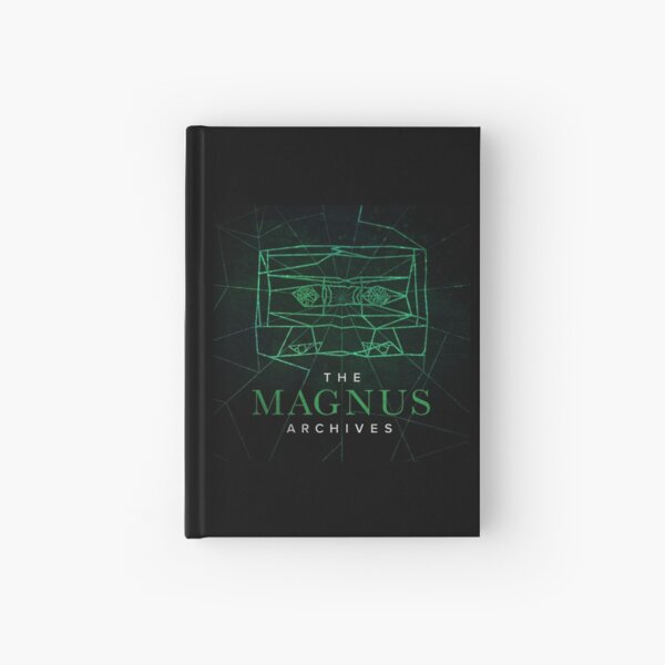 The Magnus Archives Logo (Season 5) (Square Block Logo) Hardcover Journal