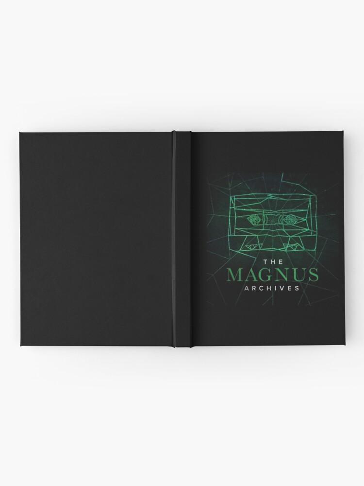 Alternate view of The Magnus Archives Logo (Season 5) (Square Block Logo) Hardcover Journal