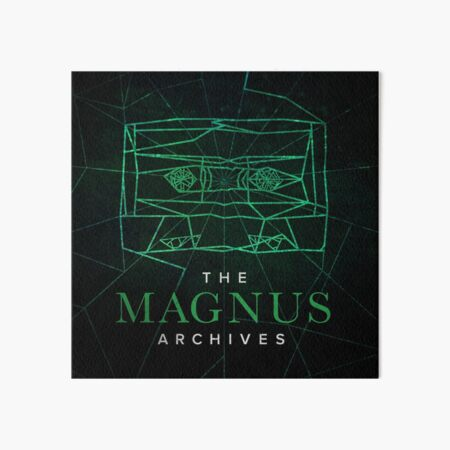 The Magnus Archives Logo (Season 5) (Square Block Logo) Art Board Print